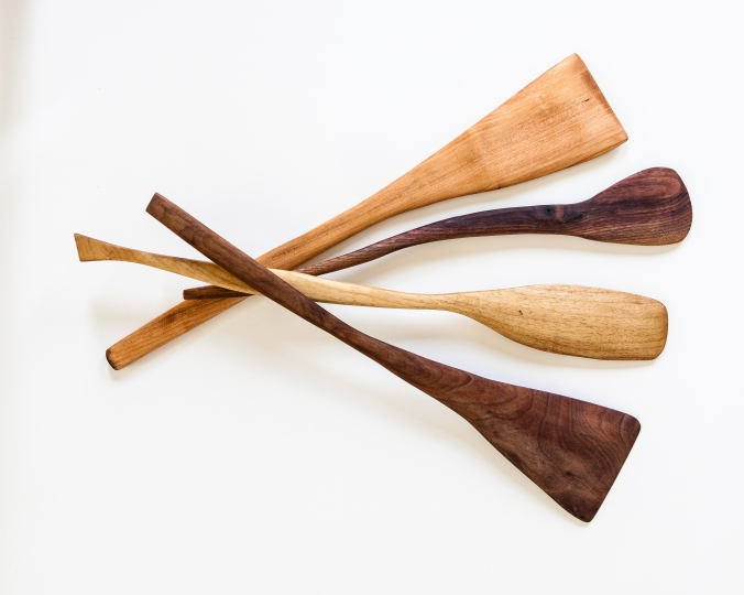 woodcraft, handmade, artisan, oregon, spatula