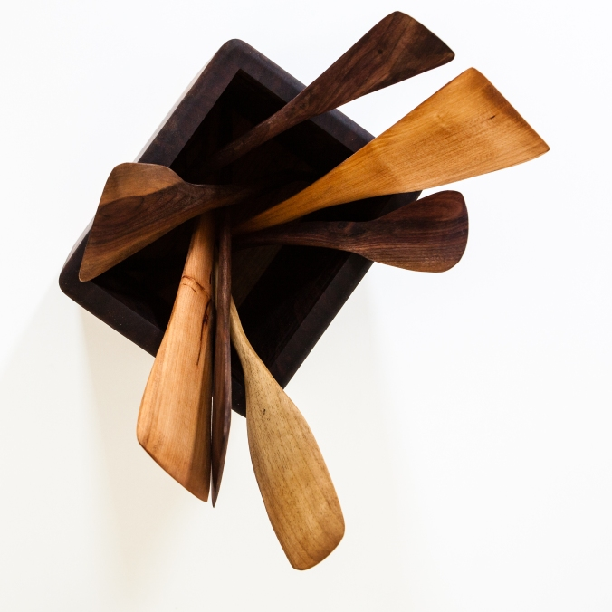 woodcraft, woodworking, black walnut, oregon, spatula