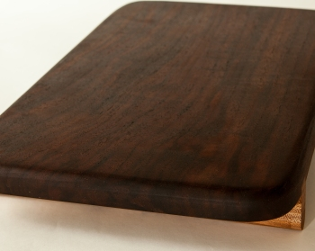 black walnut, serving tray, woodcraft, handmade