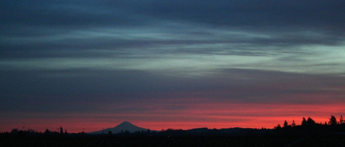 mt hood, farmscape, sunrise, beauty, life, love, gratitude, nature