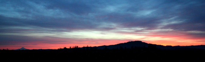 rilke, sunrise, nature, beauty, gratitude, flexibility
